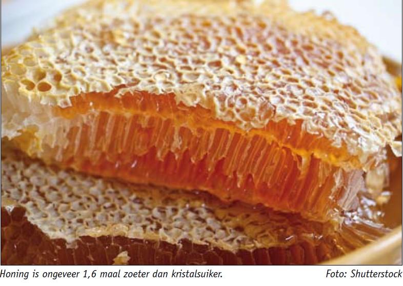 suiker vervangen door honing
